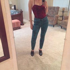 Lucky Brand Legend Charlie printed jeans skinny 28